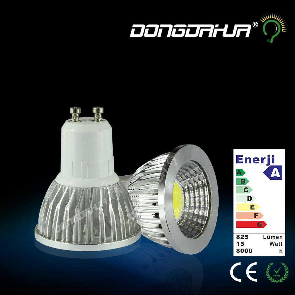 1PCS Ultra Bright COB 3w 5W 7W 9w GU10 MR16 LED Bulbs  AC85V-265V Spotlight High Power White LED SPOT Light