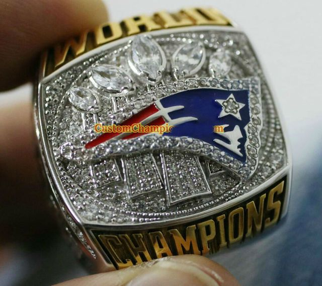 High quality 2016 - 2017 Super Bowl New England Patriots world Championship Ring Fan Ring BRADY