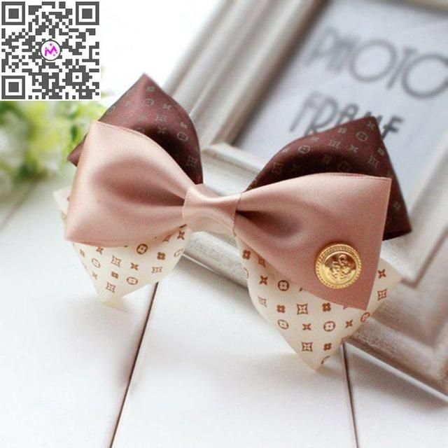 1Pcs Bowknot Hair Accessories Korean Style Flower Print Bow Hairpin Hair Clips for Women Girls Hair Bands Hair Jewelry
