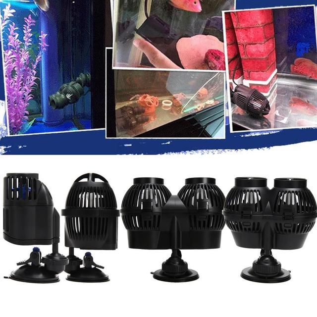 220-240V 24W Circulation Pump Wave Maker Aquarium Reef  Plastic Circulation Aquarium Super Power Propeller Design