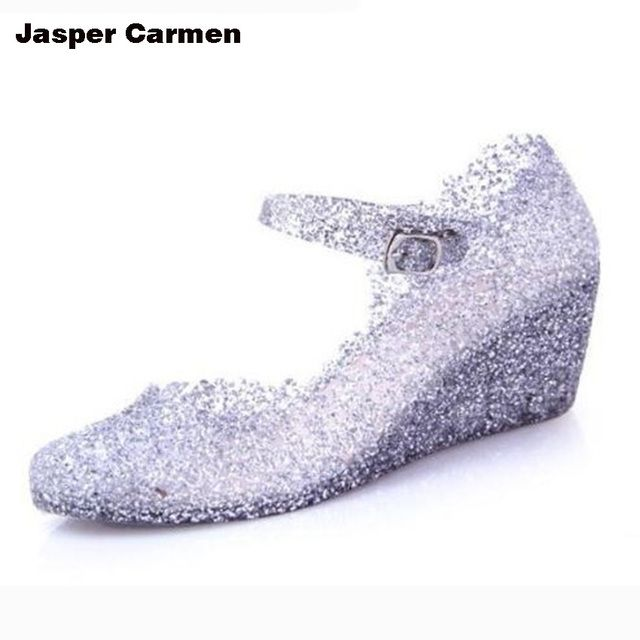 Jasper Carmen 2017 Novelty Design Fashion Platform Shoes Waterproof Fish Head Women's Singles Shoes High Heels Sandles 9.9