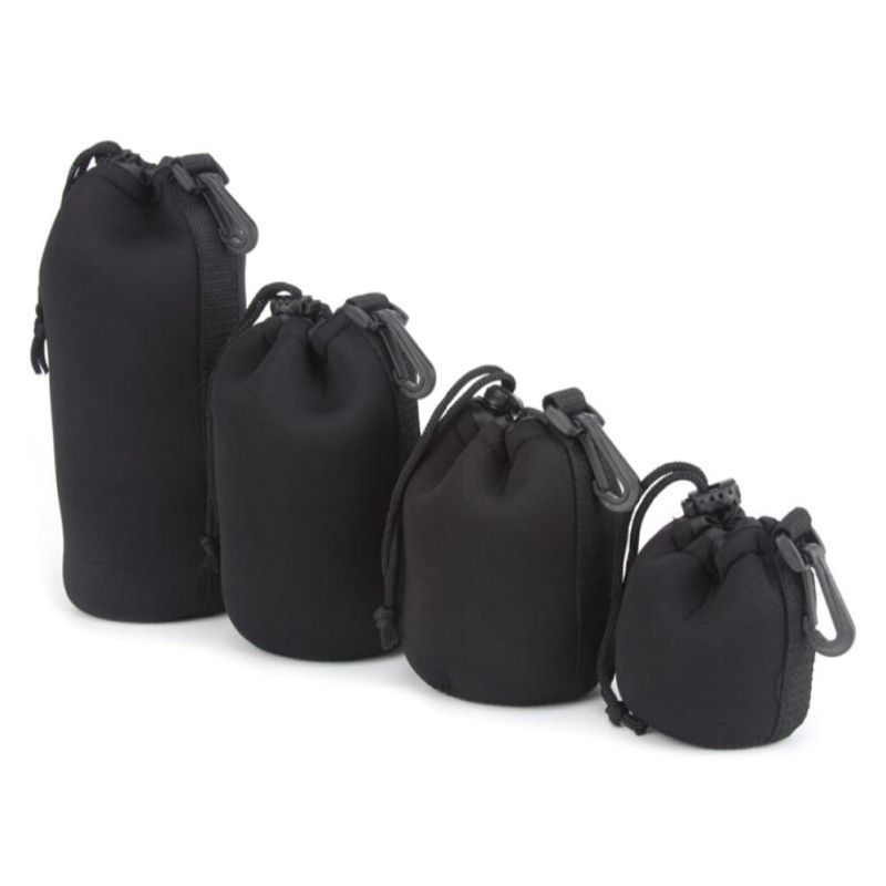 Camera Neoprene DSLR Lens Soft Pouch Protector Case Bag For Canon Nikon Sony Hot Sale