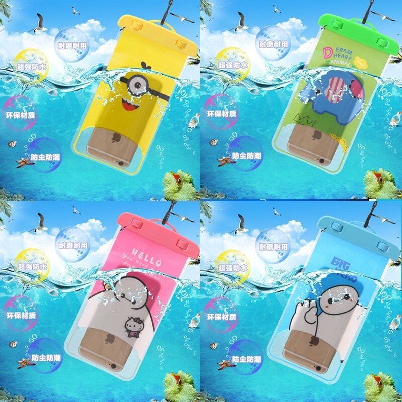 Waterproof Mobile Phone Bags with Strap Dry Pouch Cases For Nokia 925 Underwater Water Proof cover For Nokia Lumia 925