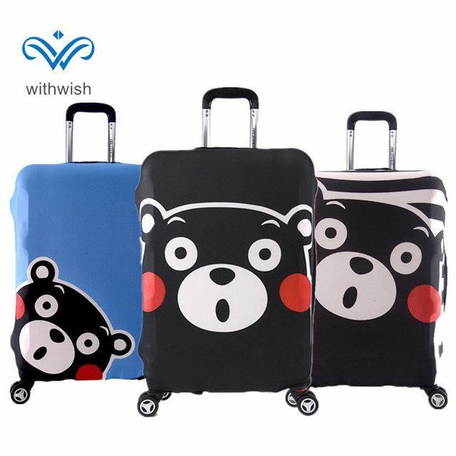 "High Elastic Travel Luggages Protective Cover S/M/L/XL Suitcase Dustproof Covers Apply to 18""~32"" Traveling Case Free Shipping"