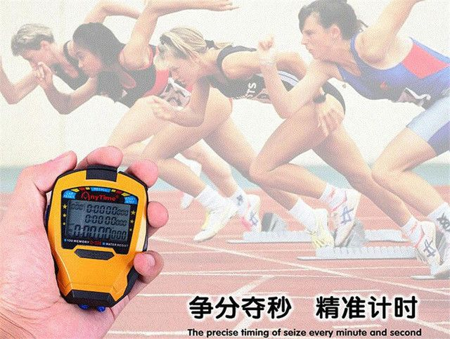 Stopwatch Timer Professional Sports Stopwatch Handheld Stopwatch Digital Counter Timer cronometro