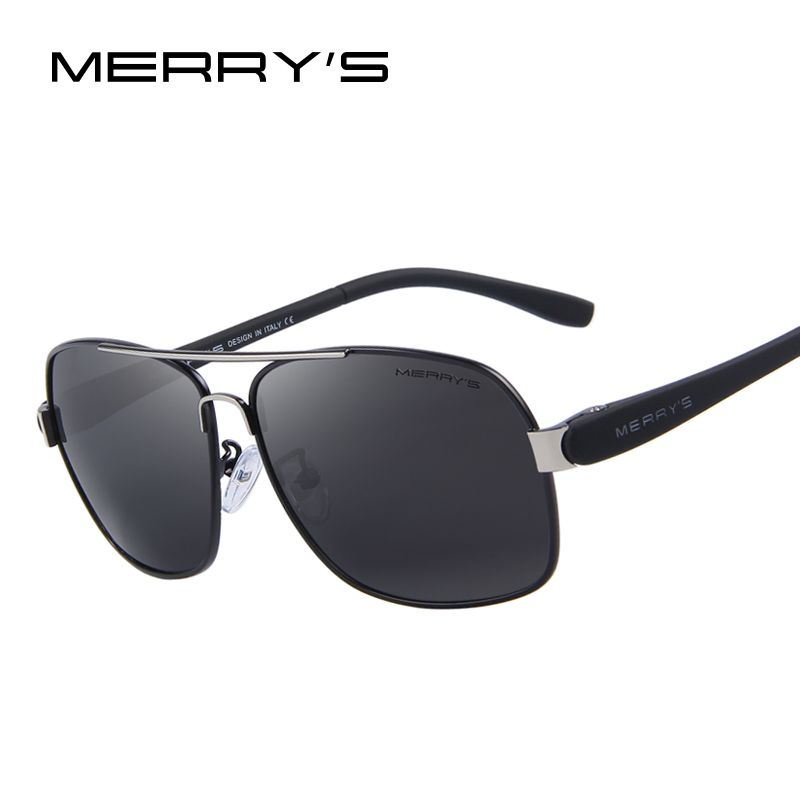 MERRYS Mens TR90 Fashion Sunglasses Polarized Color Mirror Lens Eyewear Accessories Driving Sun Glasses S8501