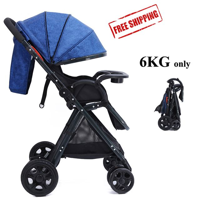 2017 Newest Folding Umbrella Travel Baby Stroller Trolley Easy To Carry