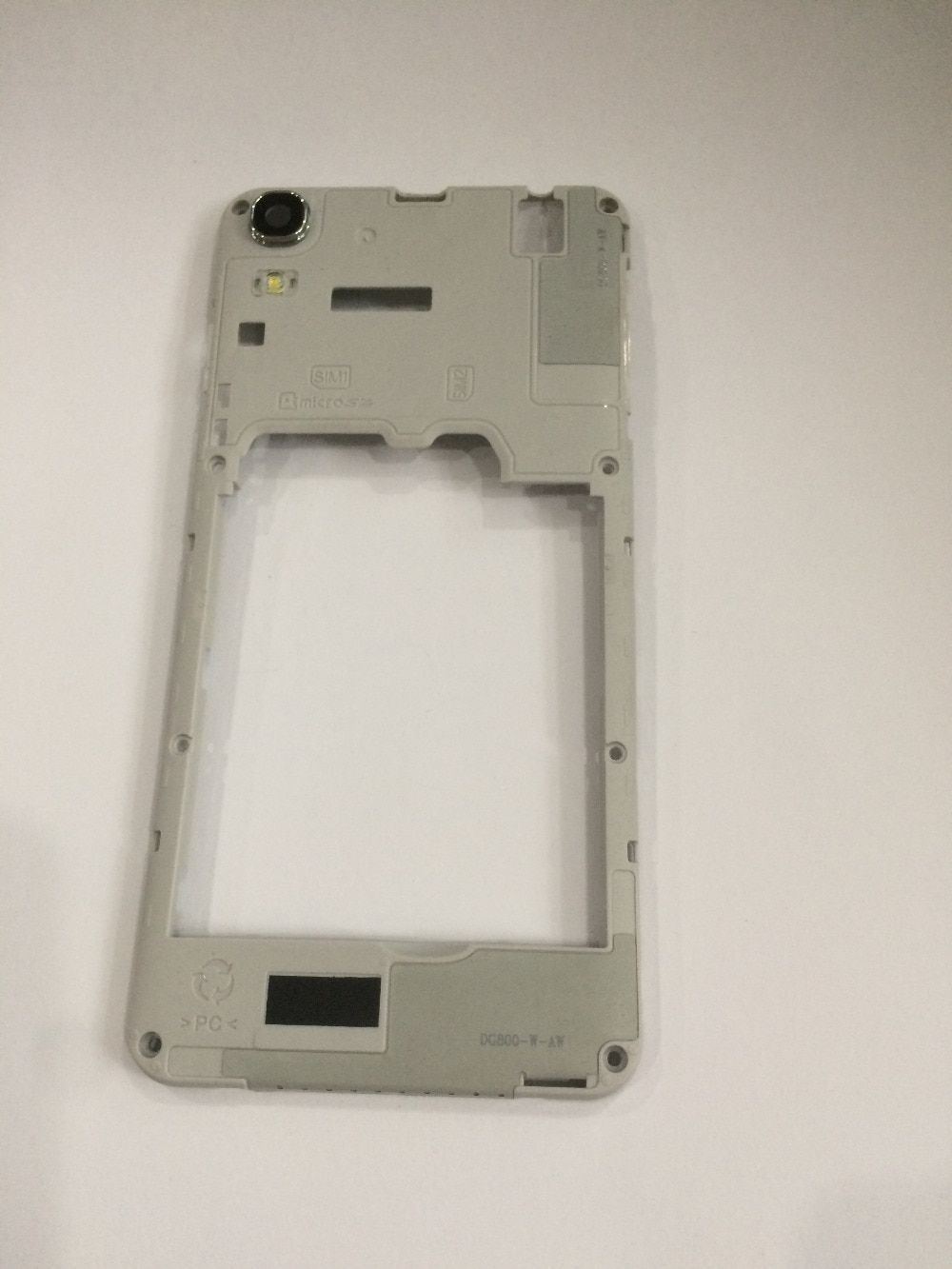 "Used Back Frame Shell Case + Camera Glass Lens For Doogee Valencia DG800 MTK6582 Quad core 4.5"" 960 x 540 Free shiping"
