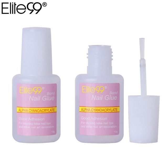 Elite99 10g Strong Glue Manicure Kit False Fake Tip Acrylic Nail Art Decoration Manicure Tools Adhesive For DIY