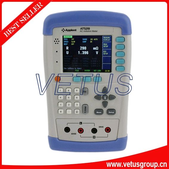 AT528 AC Resistance Meter and Battery Resistance Tester