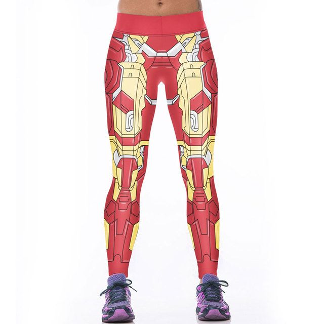 Brand Womens Leggins 3D Transformers Print Leggings Fitness Clothes Women Sporting Pants Legging Para Academia Mulheres