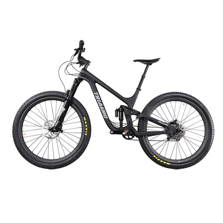 Professional carbon MTB bike 27.5 plus boosted 148*12 carbon full suspension mountain bike enduro frame