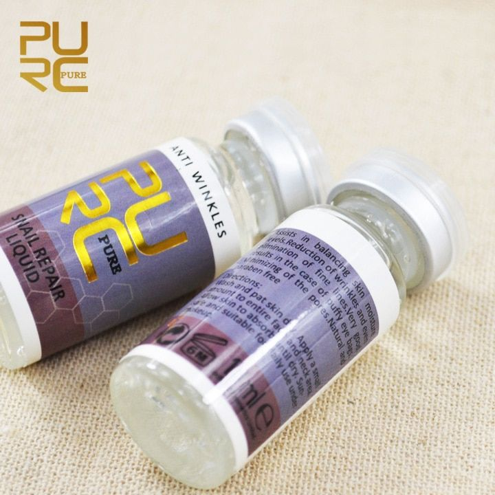 Moisturizing Whitening Cream Anti Winkles Aging 10ml x 4 pcs snail repair liquis skin care wholesale face care products 11.11