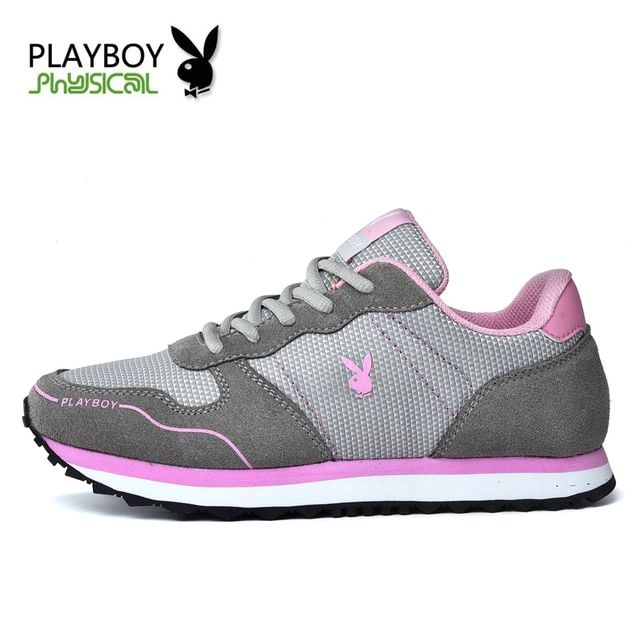 PLAYBOY 2016 New Fashion Brand Sport Mesh Women Casual Shoes High Quality Breath Casual Balance Zapatillas Deportivas