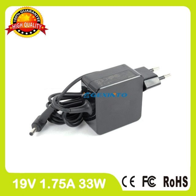 19V 1.75A 33W laptop adapter charger for Asus Eeebook E402M E402MA E402S E402SA E403SA E502MA