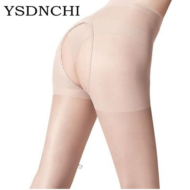 2017 New Tights Hot Fashion Women Sexy Hosiery Open Crotch Crotchless Sheer Pantyhose Seamless Stockings Free Size Collant W019