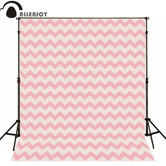 Allenjoy photography backdrops pink seamless pattern chevron polygonal wallpaper newborn cute backgrounds for photo studio