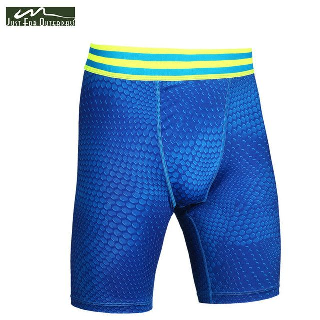 2017 New Summer Shorts Men Quick Dry Breathable Elasticity Compression Shorts Mens Shorts Free Shipping