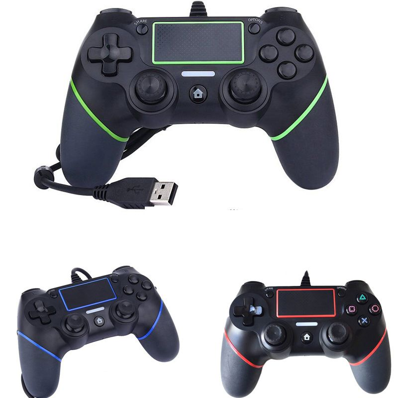 PS4 USB Wired Controller for Sony PS4 Playstation 4 Dualshock 4 P4 Joystick Gamepads Gaming Hand Grip 1.8M Cable Updated Version
