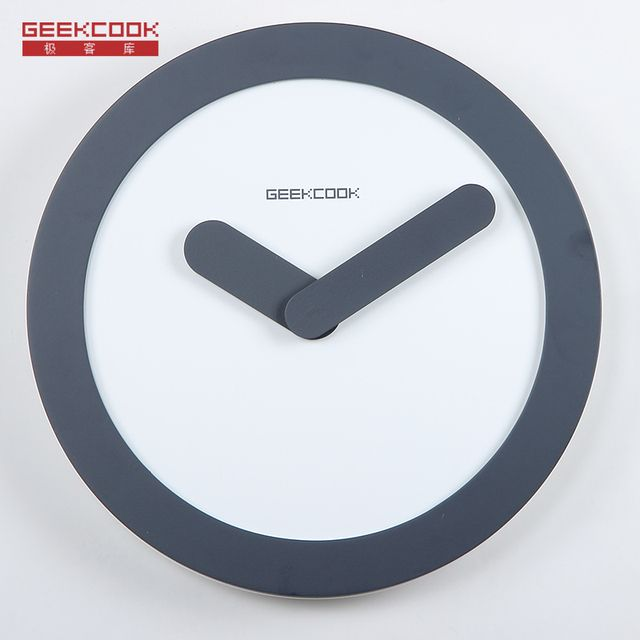 ''Zero Time'' Brief Style 12 inch Wall Clock Silent Quartz Movement Watch for Living Room Office Home Decorative