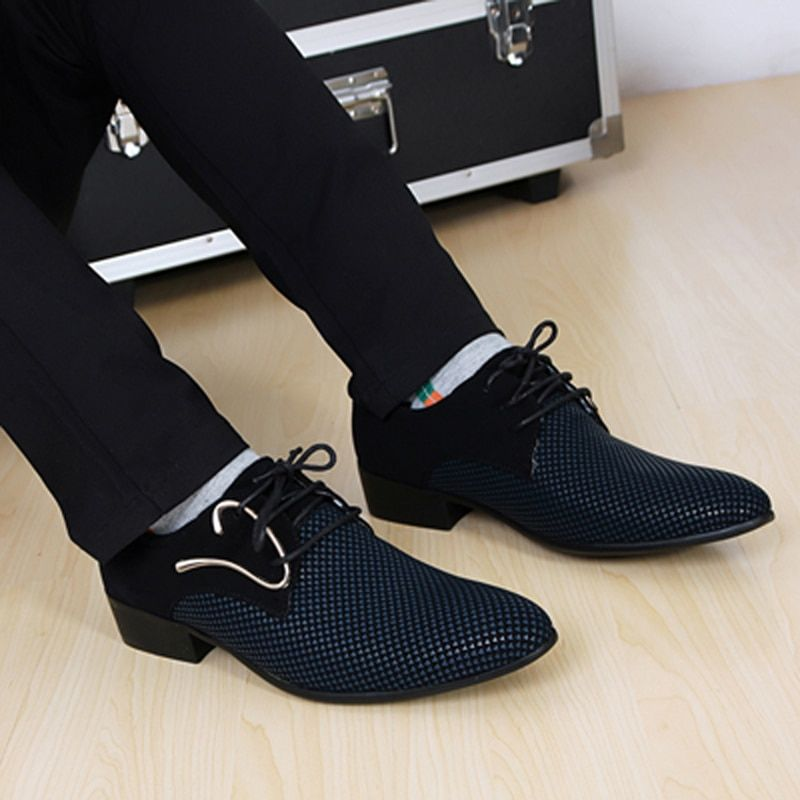 Hot sale New Fashion Men PU Leather Shoes male Flats High Quality Men Shoes Oxford Shoes
