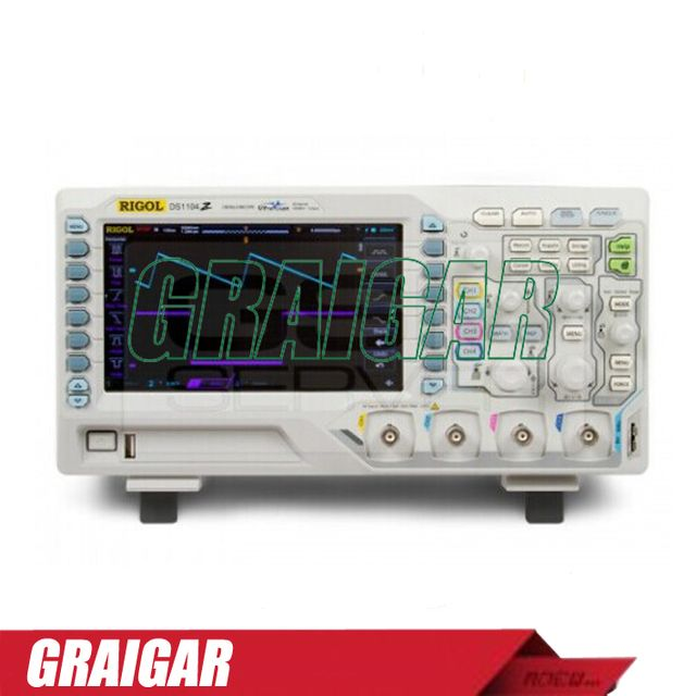 DS1104Z-S digital oscilloscope 25MHz 4 Channels 1GSa/s Function Signal Arbitrary Waveform Generator