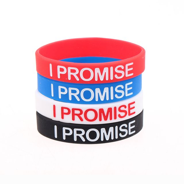 Hot Sale Fashion LeBron James I Promise Bracelet Men Basketball Silicone Bangles Bracelets For Women Pulseira Masculina Pulseras