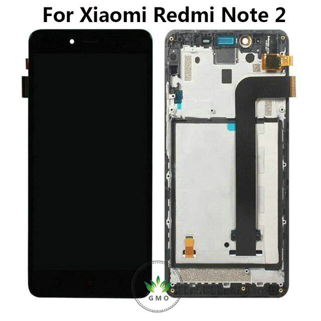 Original LCD Screen For Xiaomi Redmi Note 2 Red rice note 2 LCD Display with Touch Screen Assembly + Frame free shipping