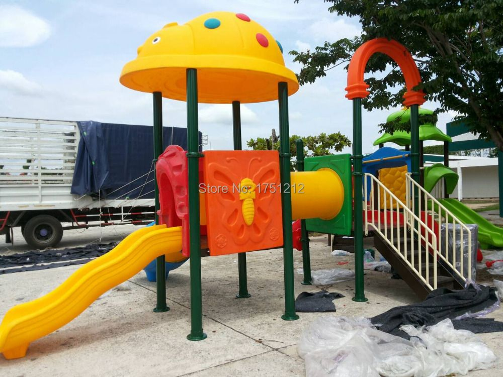 CE Approved Outdoor Playground Anti-rust Play Structure For Children Exported to Thailand HZ-31205a