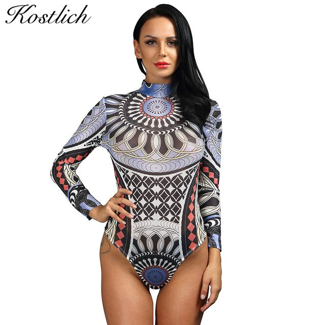 Kostlich tshirt Women Fashion Long Sleeved T-shirt Transparent Sexy Women Tops Tight Curve Siamese Casual Shirt New Summer Tops