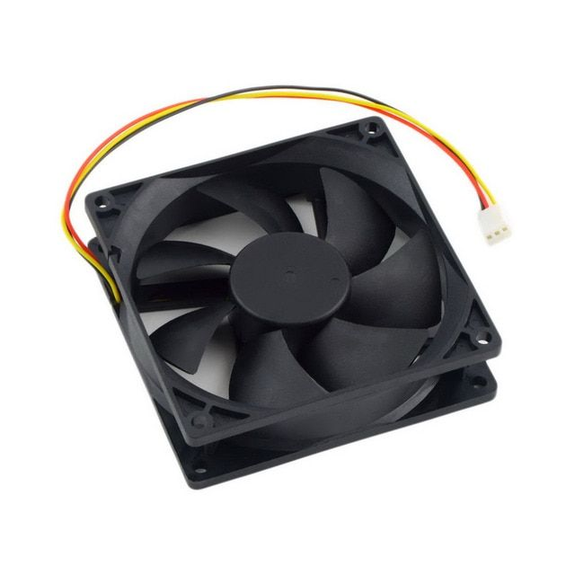 Wholesale Store 12V 3-Pin 9cm 90 x 25mm 90mm 65 CFM DC Cooling Fan CPU Heat Sinks Cooler