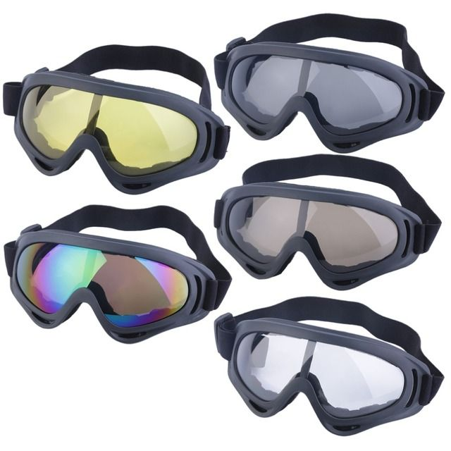 2016 New Goggles Glasses Motor off road MotoCross Skiing Helmet Snow Eyewear Lens free shipping