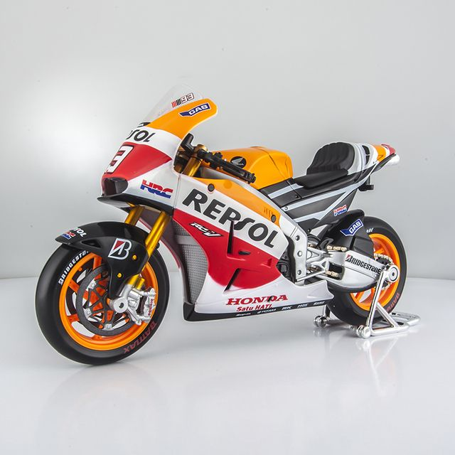 Maisto 1/10 Scale Motorbike Toys MotoGP Honda Repsol RC213V Diecast Metal Motorcycle Model Toy For Collection/Gift/Decoration