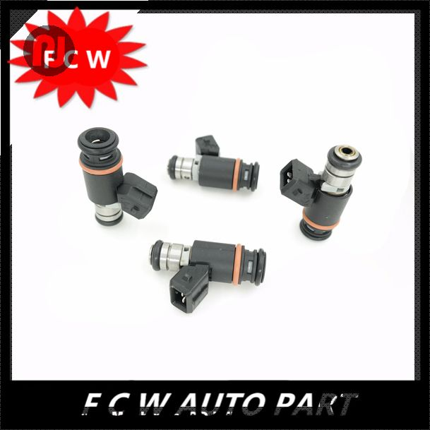 4pc/lot  FOR VW EuroVan Golf Jetta 2.8 V6 Magneti Marelli 215cc Fuel Injector IWP076 021906031D