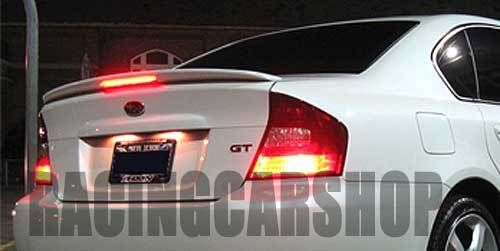 PAINTED  STI Style LED Rear Trunk Spoiler Fit For LEGACY GT 2004-2009 T022F