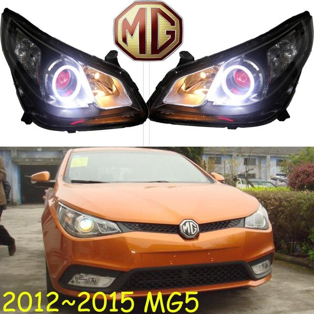 MG5 headlight,2012~2015,LDH/RHD,Free ship! MG5 fog light,2ps/set+2pcs Aozoom Ballast;MG6,MG3,GS, MG 5