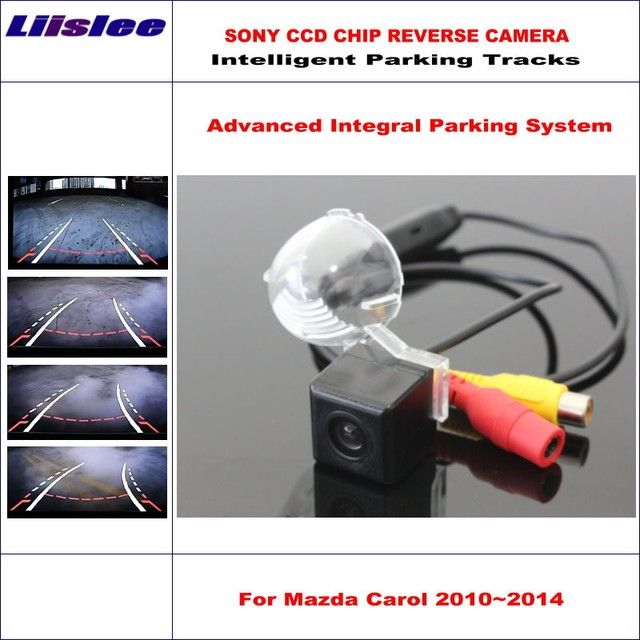 Liislee HD SONY Car Rear Camera For Mazda Carol 2010~2014 Intelligent Parking Tracks Reverse Backup / NTSC RCA AUX 580 TV Lines