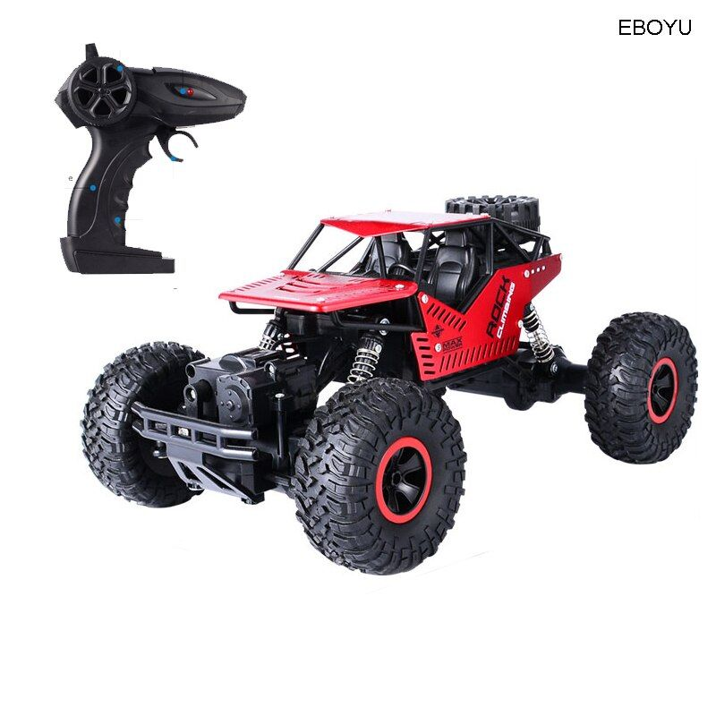 EBOYU C008S 2.4GHz Strong Power RC Car Off-Road Rock Climbing Crawler Automatic Vehicle Toys Car for Children Gift