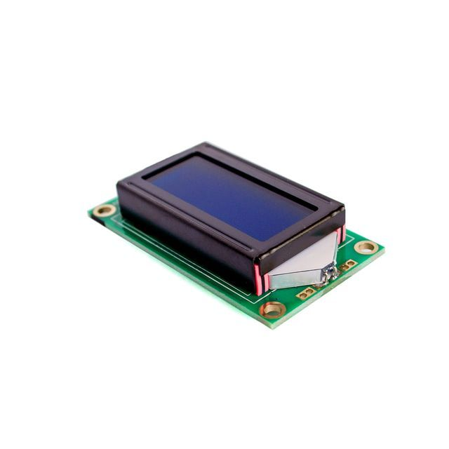 5PCS/LOT Hot Sale 8 x 2 LCD Module 0802 Character Display Screen blue or green