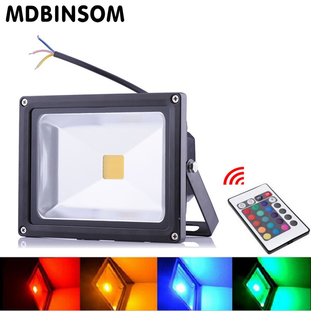 Outdoor Led Flood Light Projecteur Led Exterieur 10W 20W 30W 50W Spotlight Led Reflector Lighting 85-265V Garden Floodlight Lamp