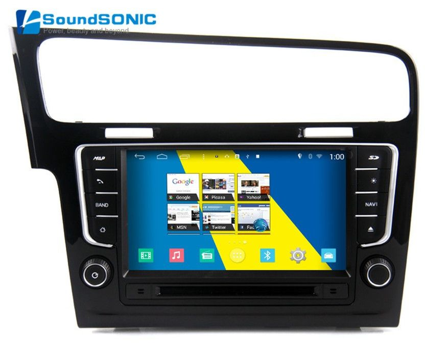 S160 Quad Core Android 4.4.4 Autoradio GPS Navi Multimedia Player For VW For Volkswagen Golf 7 MK7 DVD Bluetooth Mirror Link