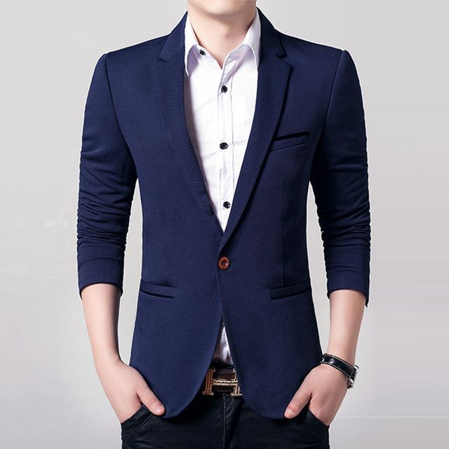 Fashion suit  Blazer slim fit male formal dress blazer spring Autumn men's short blazers suits prom outfit MZ070