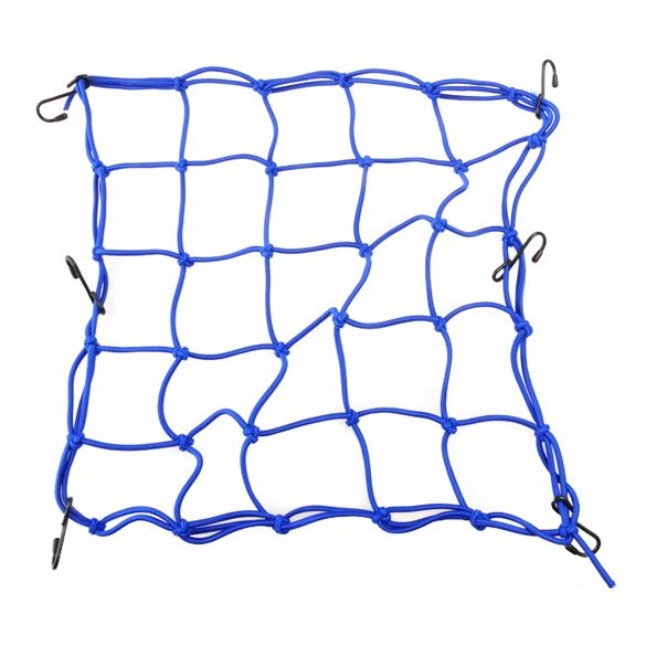Pratical Motorcycle Mesh Bag String Bag Sundries Net Rope Luggage Cargo Bungee Net Bag Blue Helmet Holder ME3L