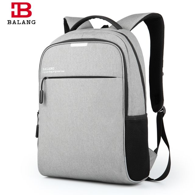 2017 New BALANG Brand Korean Style Men Business 15.6 Laptop Notebook Practical Backpack Casual Fashion Travel Backpacks Bags