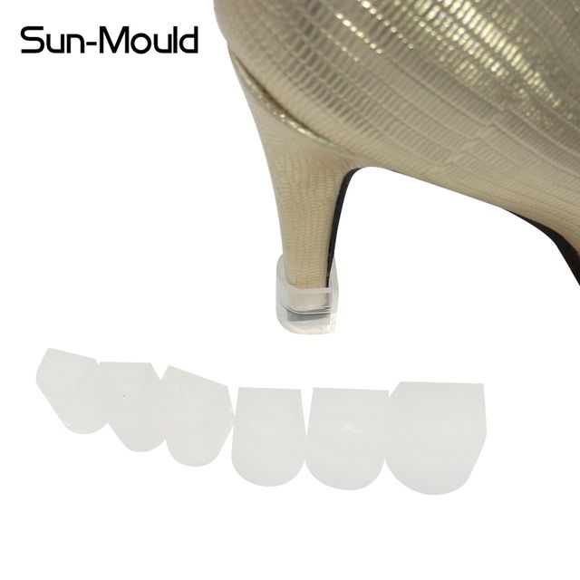New 6 different size Easy Use high Stiletto Heel Protectors Antiskids and stop your shoes locked shoes heel protector 12pairs
