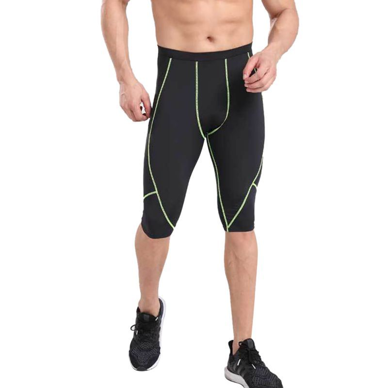 Mens Compression LeggingsRunning Base Layer Fitness Trousers Tights Sport Training Gym Wear