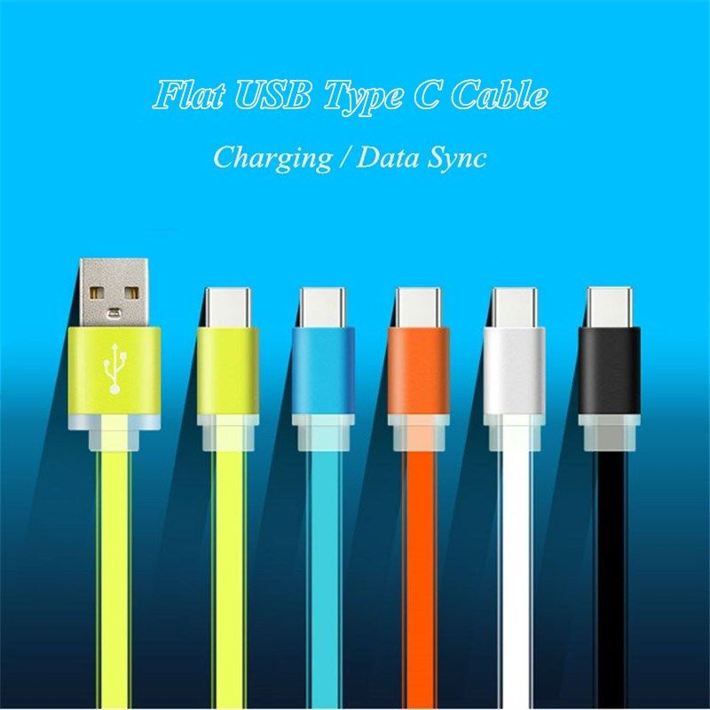 USB Type C USB 3.1 Charging Cable USB-C Data Sync Charge Cord for Oneplus 2,Samsung Galaxy A7 A5 A3 2017,Huawei P10 Plus P9 Lite