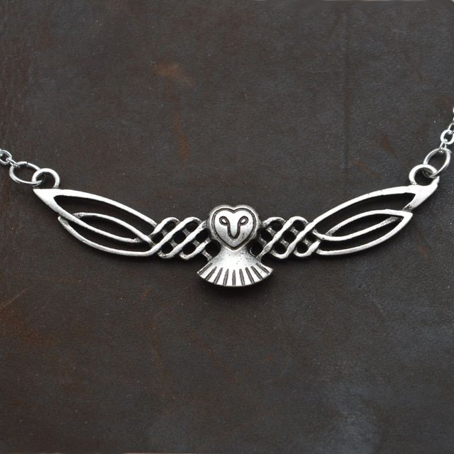Dropshipping Fashion owl Pendant necklace bird necklace for women charm choker necklace owl jewelry CT389