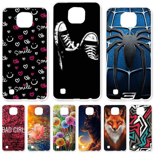 TAOYUNXI Soft TPU Case For LG X Cam Cases For LG X-cam F650 K580 K580Y K580 K580DS 5.2 inch DIY Painted Protective Covers