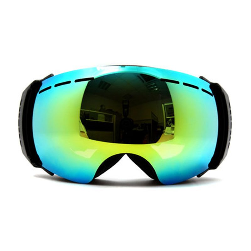 New genuine brand ski goggles double lens anti-fog big spherical professional ski glasses unisex multicolor snow goggles NCE55